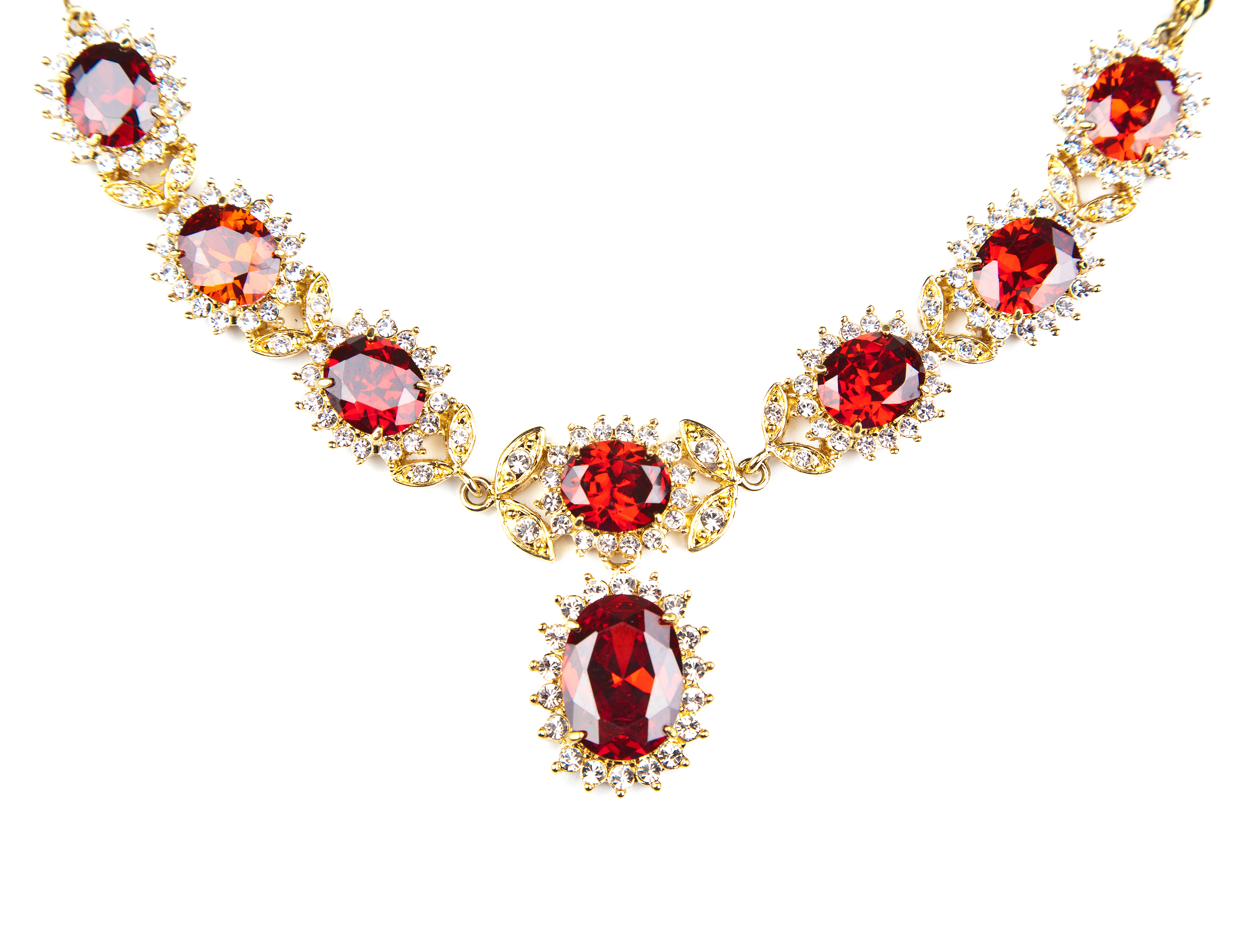 angelique necklace red filled the with ruby gold valltasy design ethiopian opal