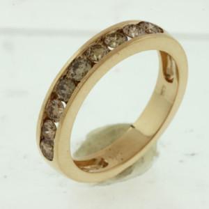 Royal Jewelers Mocha Diamond Wedding Band (H2212VJ)