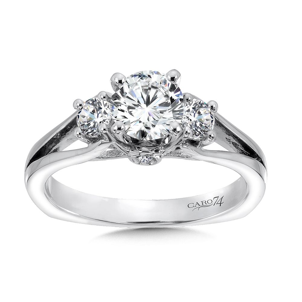 pt curvy shank pointer with engagement platinum jl w products ring a rings solitaire diamond