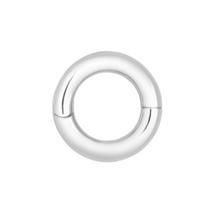 Petra Azar Circle of Love Polished Sterling Silver Pendant