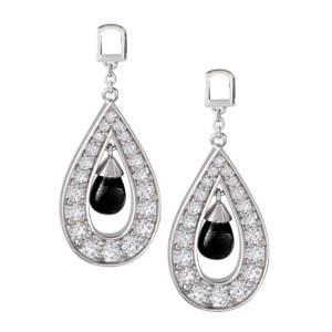 Petra Azar Onyx Dangle Earring Pendants