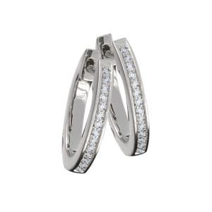 Petra Azar Diamond Pave Hoop Earrings