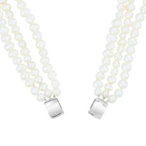 Petra Azar Circle of Love White Pearl Chain