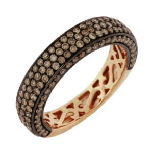 Royal Jewelers Mocha Diamond Wedding Ring (HPC5391VJ)