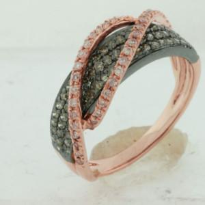 Royal Jewelers Diamond & Mocha Diamond Wedding Ring (HPC5464VJ)