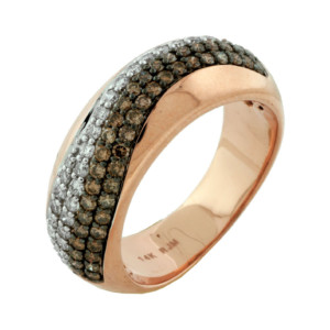 Royal Jewelers Diamond & Mocha Diamond Wedding Ring (HPC5648VJ)