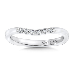 Valina Wedding Band (HRQ9364BW-DIAJ)