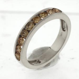Royal Jewelers Mocha Diamond Wedding Band (HW2212VJ)