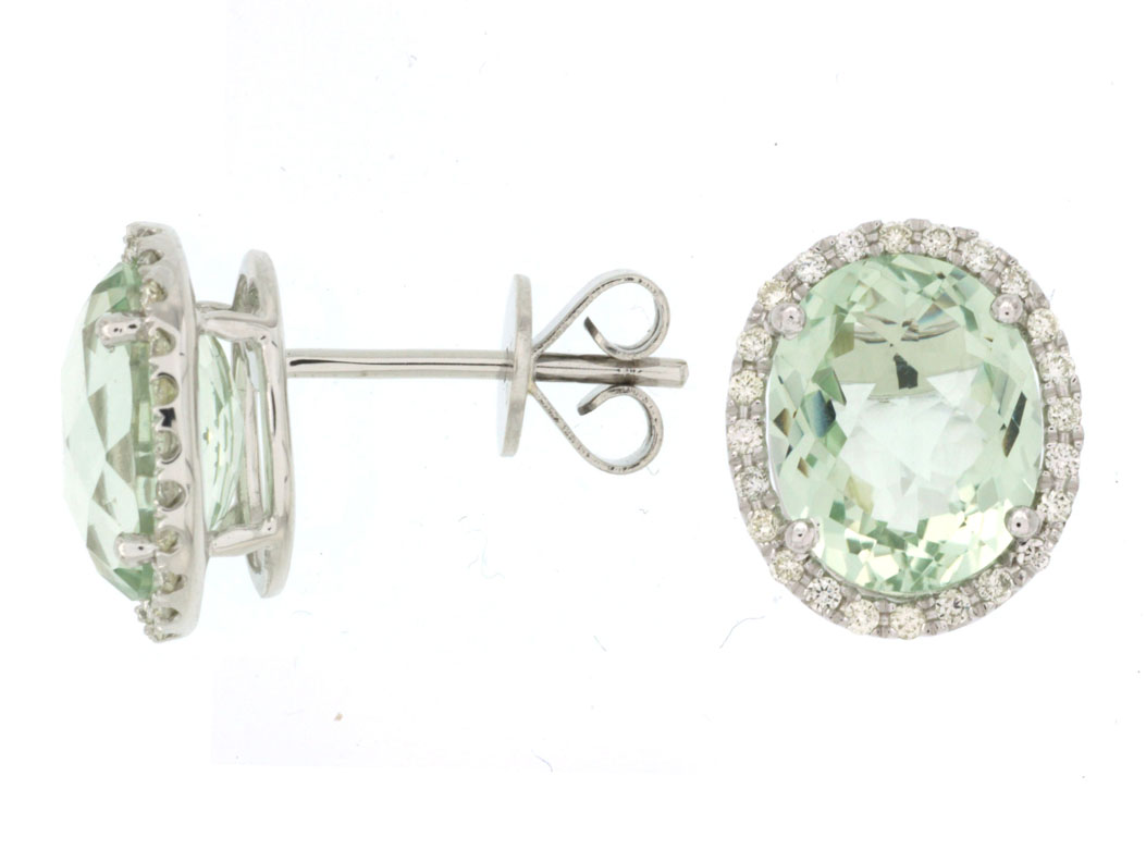 setting earrings silver green amethyst luminous have these a in gemstone