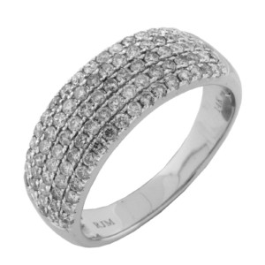 Royal Jewelers Ladies' Diamond Wedding Ring (HWC5319DJ)