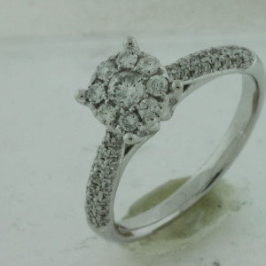 Royal Jewelers Diamond Engagement Ring (HWC5427DJ)