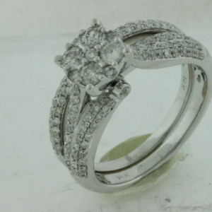 Royal Jewelers Engagement & Wedding Band & Set (HWC5431DJ)