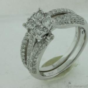 Royal Jewelers Engagement & Wedding Band & Set (HWC5431DJ)