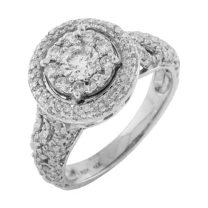 Royal Jewelers Diamond Engagement Ring (HWC5510DJ)