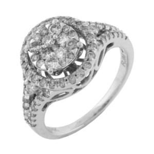 Royal Jewelers Diamond Engagement Ring (HWC5516DJ)