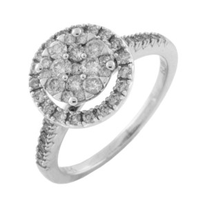 Royal Jewelers Diamond Engagement Ring (HWC5518DJ)