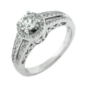 Royal Jewelers Diamond Engagement Ring (HWC5523DJ)
