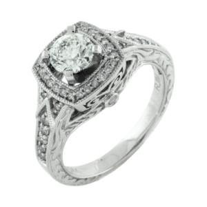 Royal Jewelers Diamond Engagement Ring (HWC5525DJ)
