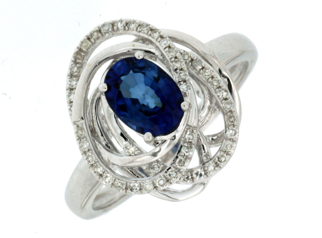 at has pin the engagement center blue vintage style sapphire a diffused ring this gorgeous