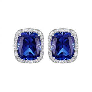 Atelier Swarovski Angel Stud Earrings, Swarovski Created Sapphire