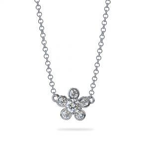 Atelier Swarovski Bloom Necklace, Swarovski Created Diamonds