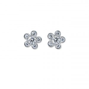 Atelier Swarovski Bloom Stud Earrings, Swarovski Created Diamonds