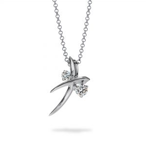 Atelier Swarovski Encounter Delicate Necklace, 18k White Gold
