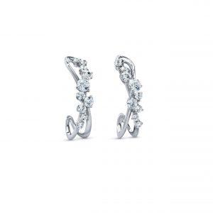 Atelier Swarovski Encounter Earrings, Swarovski Created Diamonds