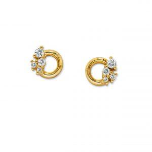 Atelier Swarovski Glacial Earrings, Swarovski Created Diamonds