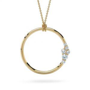 Atelier Swarovski Glacial Large Necklace, Swarovski Created Diamonds