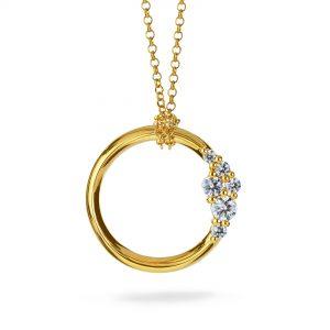 Atelier Swarovski Glacial Medium Necklace, Swarovski Created Diamonds