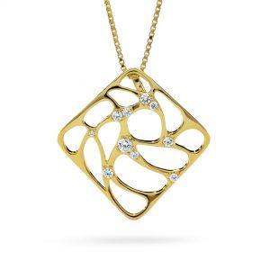 Atelier Swarovski Lace Necklace, Swarovski Created Diamonds