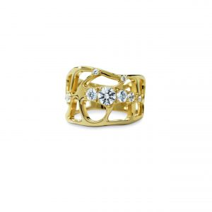 Atelier Swarovski Lace Ring, Swarovski Created Diamonds