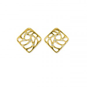 Atelier Swarovski Lace Small Earrings, Swarovski Created Diamonds