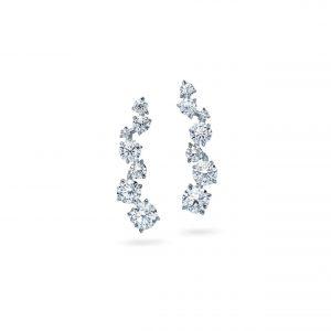 Atelier Swarovski Signature Ear Cuffs, 18K White Gold