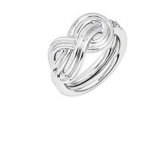 Atelier Swarovski Knot of True Love Interlaced Ring