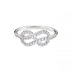 Atelier Swarovski Knot of True Love Classic Set Ring