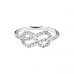 Atelier Swarovski Knot of True Love Classic Set Ring